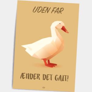 Postkort_Uden_far_aender_det_galt