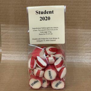 student 2020 rød
