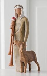 shepherd-w-bagpipe-h-23cm-willow