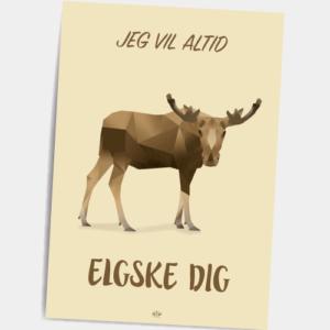 Poskort_Jeg_vil_altid_elgske_dig