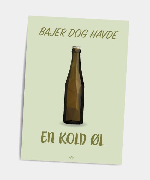Postkort_bajer_dog_havde_en_oel