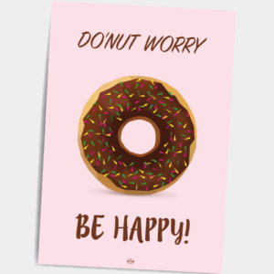 donut-worry-be-happy_rod_postkort-12_37_46-2