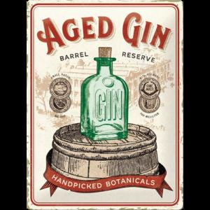 Aged gin