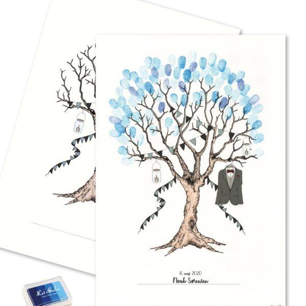 Konfirmation Fingerprint - BOY:Blue