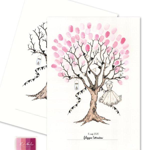 Konfirmation Fingerprint - GIRL:Pink