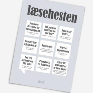læsehesten-lykønskningskort-graa-dialaegt-595x833