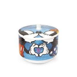 Mickey sukkerskål blå