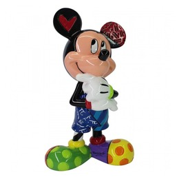 Britto Mickey mouse thinking