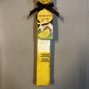 Lemon og hvid chokolade