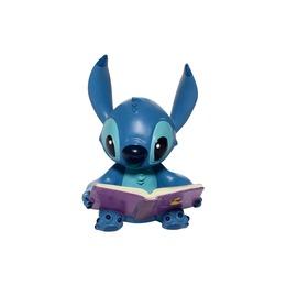 stitch reading a book